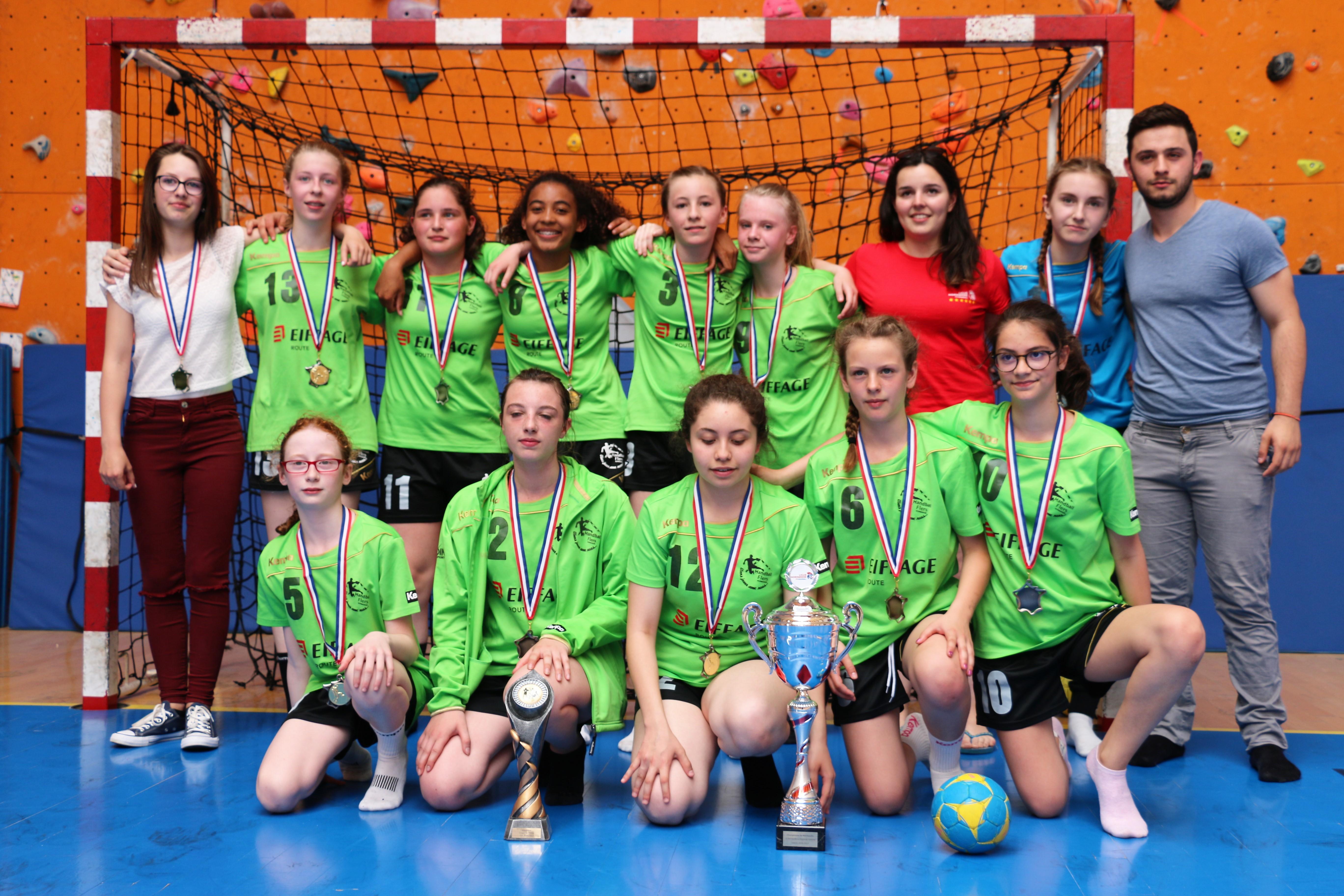 R sultats de la coupe de l 39 orne handball flers - Resultat coupe de france handball feminin ...